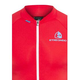 Etxeondo Entzun S/S Jersey Men Red-Blue